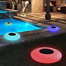 Abcrital - Luce galleggiante per piscina, LED RGB