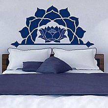 Abkbcw Adesivo murale Mezzo Mandala Adesivo murale
