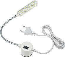 AC110-245V 1W 20LED Lampada da cucire per macchina