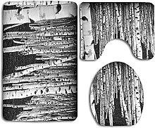 Accessori da bagno, antiscivolo 3 pezzi morbido