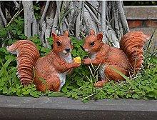 Accessori giardino 2 Pzs Animali Fairy Garden