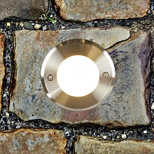 Acciaio inox - faretto da incasso a terra LED-18