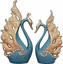 ACMLIFE Set di 2 Pezzi Soprammobile in Ceramica