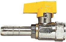 Acquastilla 109265 Rubinetto Diritto per Gas
