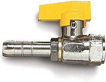 AcquaStiLLa 109267 Rubinetto Diritto per Gas