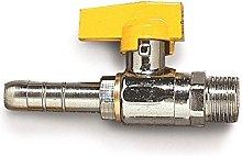 Acquastilla 109268 Rubinetto Diritto per Gas