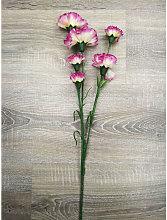 Ad Trend - Fiore finto garofano a 6 boccioli Viola