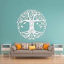 Adesivi albero parete arte camera da letto