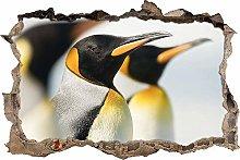 Adesivi da Parete 3D,bellissimi pinguini DIY