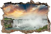 Adesivi da Parete 3D,Cascate del Niagara