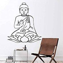 Adesivi da parete creativi Buddha Sticker Camera