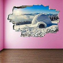 Adesivi da parete Decalcomania murale con adesivo