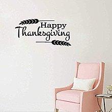 Adesivi da parete Happy Thanksgiving Home