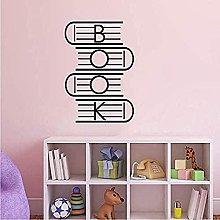 Adesivi da parete in vinile per sala lettura,