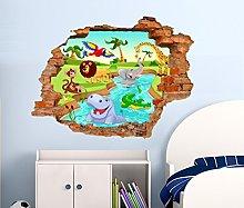 Adesivi Murale per bambini StickerDesign Made in