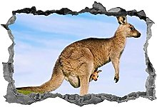 Adesivi murali - 3D - Adesivo Animali Decalcomania