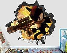 Adesivi murali - 3D - Adesivo murale bambini
