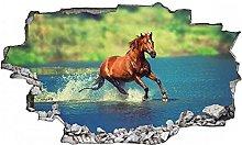 Adesivi murali - 3D - Adesivo murale con animali -
