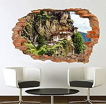 Adesivi murali - 3D - Adesivo murale del monastero