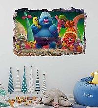 Adesivi murali - 3D - Poster Vinile - Cartoon
