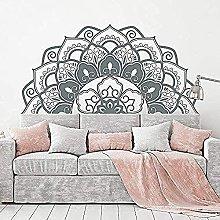 Adesivi Murali Adesivi, Moda Mandala Arte Mezza