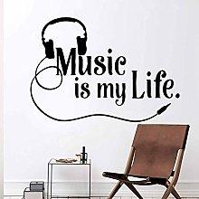 Adesivi Murali Adesivi Murali Moderni Musica Vita