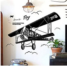Adesivi Murali Adesivi Murali Per Aeroplani Neri