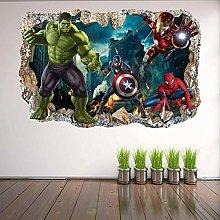 Adesivi Murali Adesivi murali supereroi Adesivo