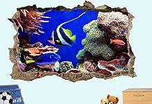 Adesivi Murali adesivo da parete Pesci tropicali