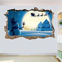 Adesivi Murali adesivo da parete tema natalizio