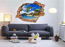 Adesivi Murali Adesivo murale 3D Holiday Island