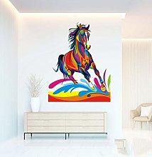 Adesivi Murali Adesivo murale a forma di cavallo