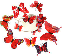 Adesivi murali, adesivo murale a forma di farfalla