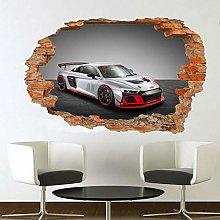 Adesivi Murali Adesivo murale auto da corsa ad