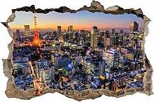 Adesivi Murali adesivo murale buco di Parigi 3d
