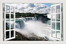 Adesivi murali Adesivo murale cascata di paesaggi