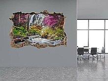 Adesivi Murali Adesivo murale con foto a cascata