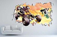 Adesivi Murali Adesivo murale di Phantom 3d