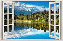 Adesivi Murali Adesivo murale finestra bambino