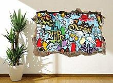 Adesivi Murali Adesivo murale in stile musicale