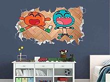 Adesivi Murali Adesivo murale Magico mondo gomma