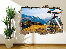 Adesivi Murali Adesivo murale mountain bike