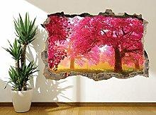 Adesivi Murali Adesivo murale murale con albero in