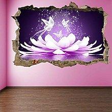Adesivi murali Adesivo murale pavone con effetto