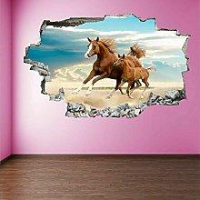 Adesivi murali - Adesivo murale per cavalli