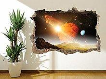 Adesivi Murali Adesivo murale sistema solare murale