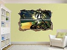 Adesivi Murali Adesivo murale Sunset In Paradise