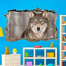 Adesivi Murali Animale selvatico Adesivo murale 3D