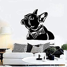 Adesivi murali Animali domestici astratti Bulldog