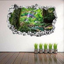 Adesivi murali arcobaleno tropicale Adesivo murale